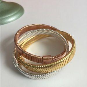 Trio JCrew stretch bracelets